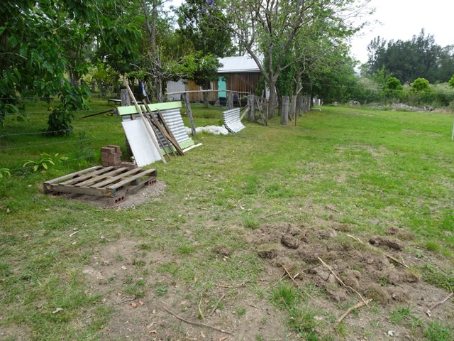 Setting up a garden shed